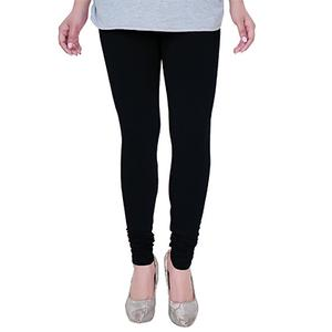 Desiring Black Colored Casual Wear Churidar Leggings