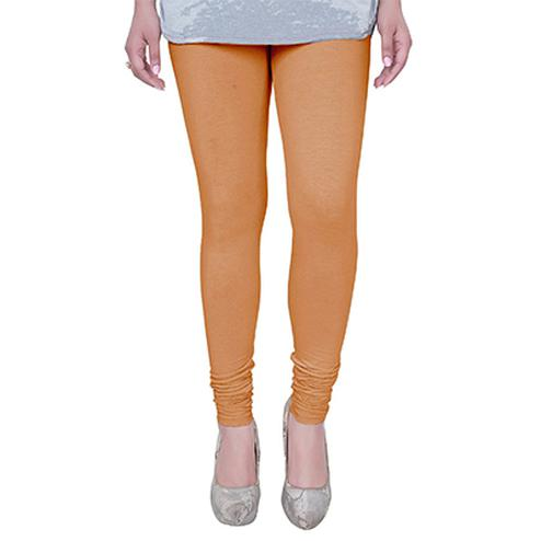 Groovy Brown Colored Casual Wear Churidar Leggings