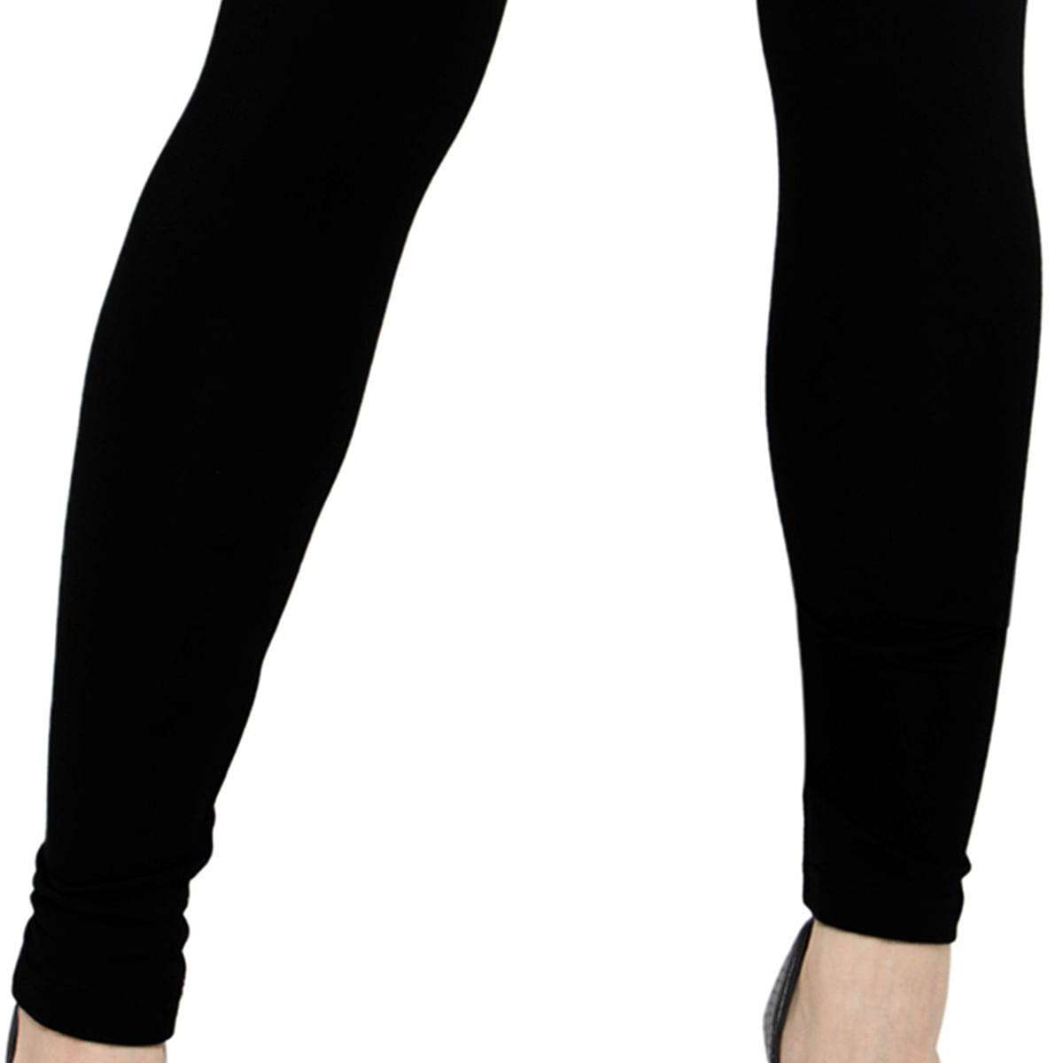 Ethnic Black Colored Casual Wear Ankle Length Leggings