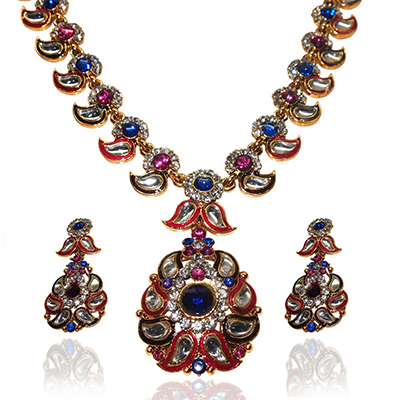 Glorious Design Multicolor Necklace Set