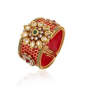Gold plated multi partywear bangle