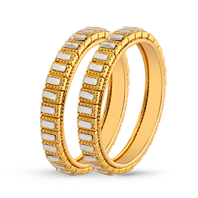 Kundan Gold Plated Ethnic Bangle