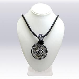 Black Colored Imported Stone Western Necklace