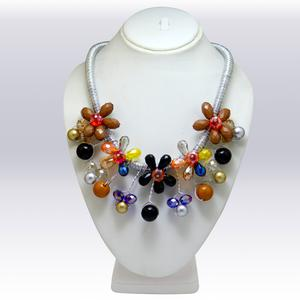 Multi Colored Imported Beeds Western Necklace