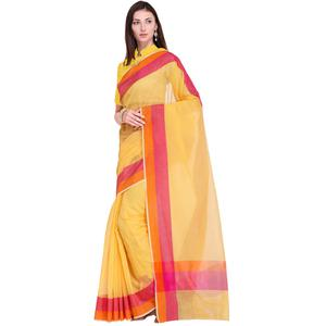 Desirable Yellow Colored Festive Wear Art Silk Saree