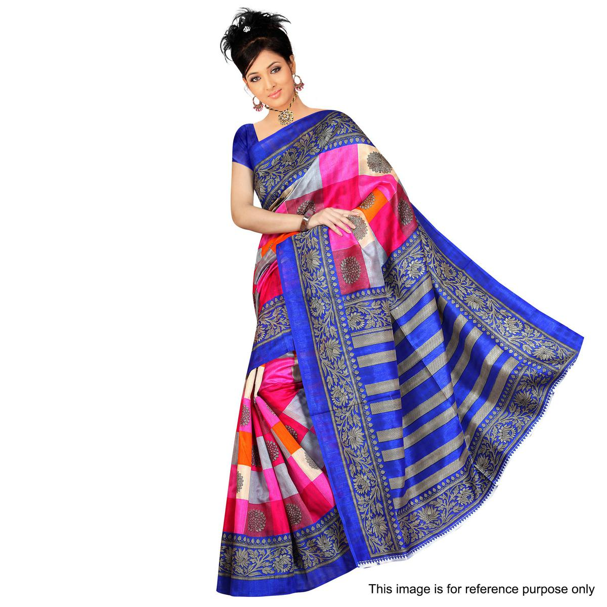 Multi Color Casual Wear Saree