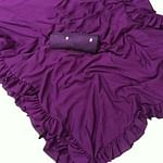 Arresting Purple Colored Partywear Art Silk Saree