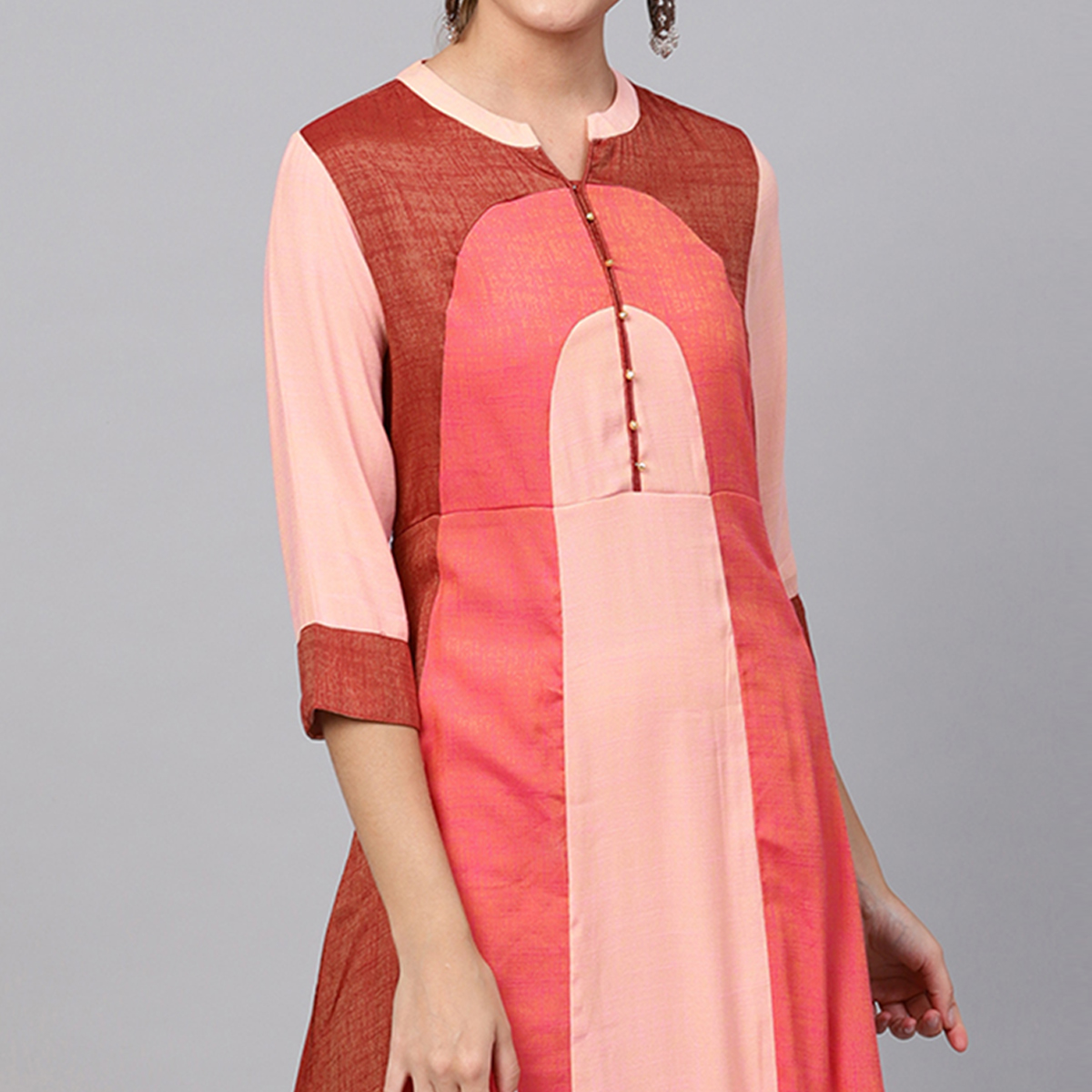 Innovative Multi Colored Casual Wear Muslin Cotton Kurti