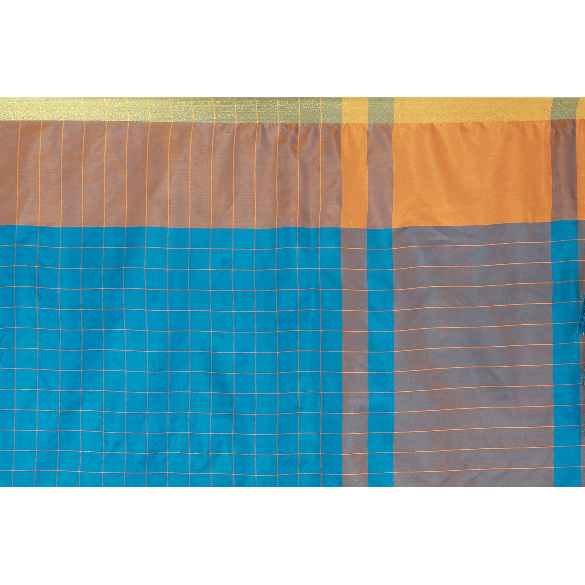 Dazzling Sky Blue Colored Casual Wear Art Silk Saree