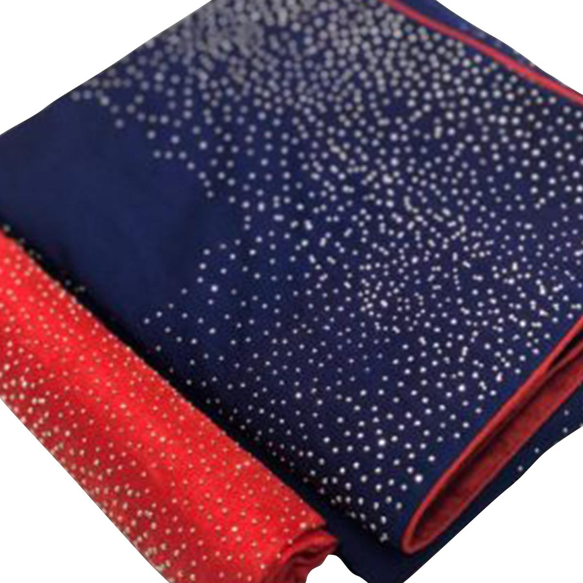 Gleaming Blue Colored Partywear Art Silk Saree