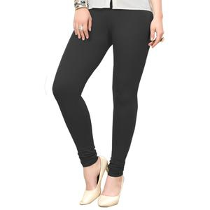 Captivating Black Colored Casual Wear Ankle Length Leggings