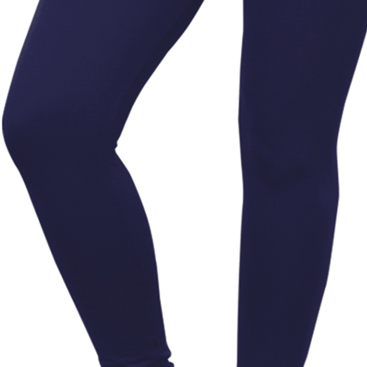 Gorgeous Navy Blue Colored Casual Wear Ankle Length Leggings