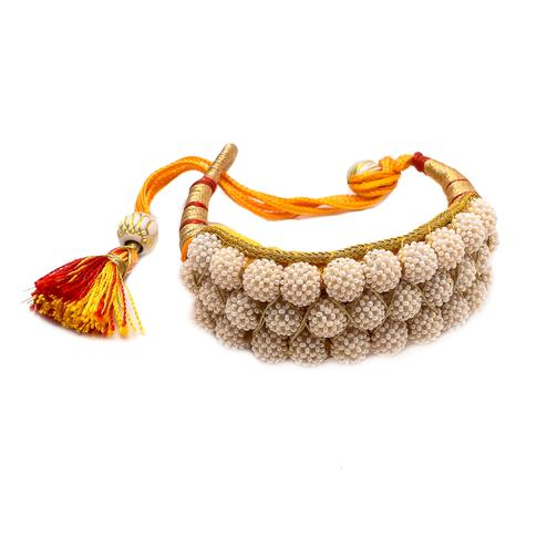 Glorious Traditional Pearl Ponchi or Bracelet
