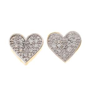 Innovative Heart Shape Stud Earrings