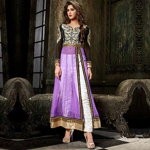 Indo Purple Dress Suit