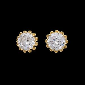 Flattering Small Designer Stud Earrings