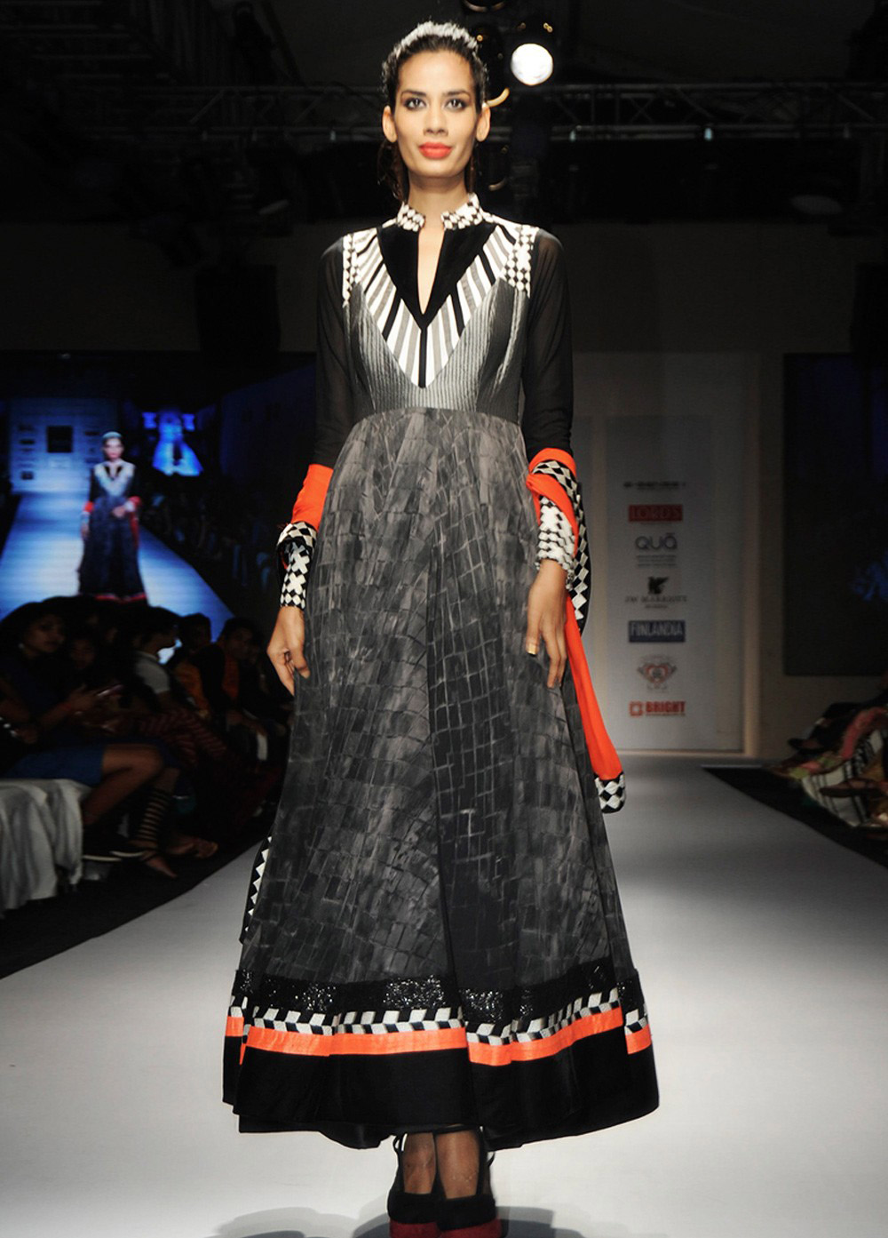 Stunning Black Anarkali
