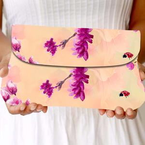 Ideal Yellow Colored Floral Printed Fancy Sling Bag