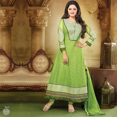 Light Green Anarkali