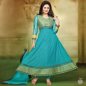 Light Blue Anarkali