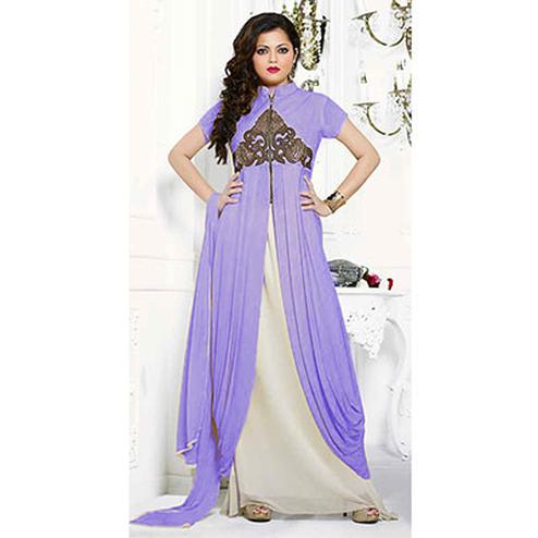 Light Purple Anarkali