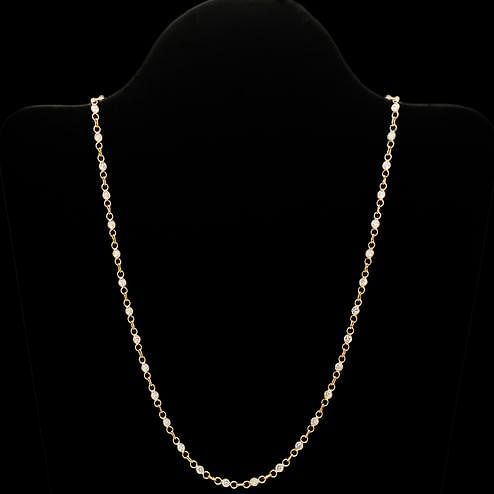 Pretty Designer American Diamond Chain
