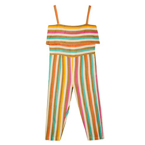 PWN Exclusive Multi Colored Partywear Printed Cotton Jumpsuit