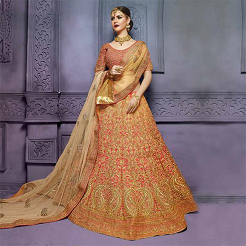 Pink Wedding Wear Bridal Lehenga Choli