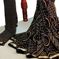Attractive Black Colored Party Wear Bandhani Printed Georgette Saree
