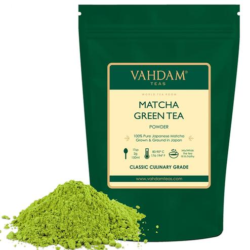 VAHDAM Pure Matcha Green Tea 50gms