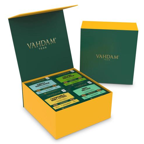VAHDAM Green Tea Wellness Kit - 60 Tea Bags 120gms