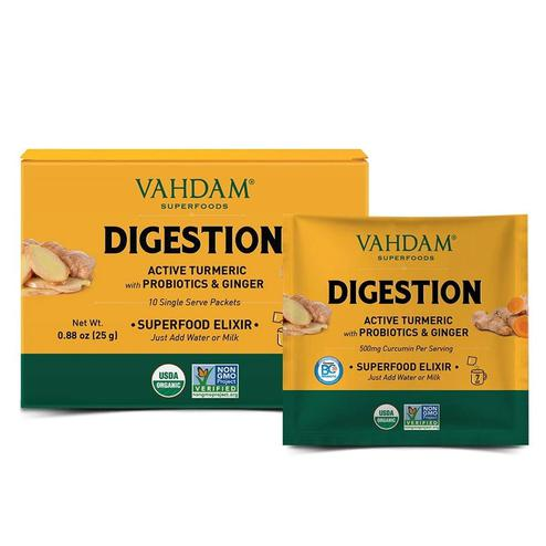VAHDAM Turmeric Digestion Superfood Elixir 100gms