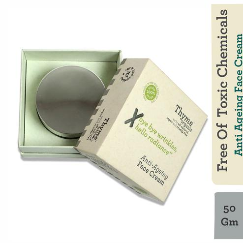 Anti Ageing Night Face Cream-with Apple Stem Cells & Vitamin E- Toxic Chemical Free ( 50G )