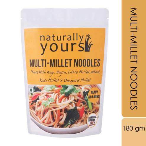 Naturally Yours Multi-Millet Noodles 180gms