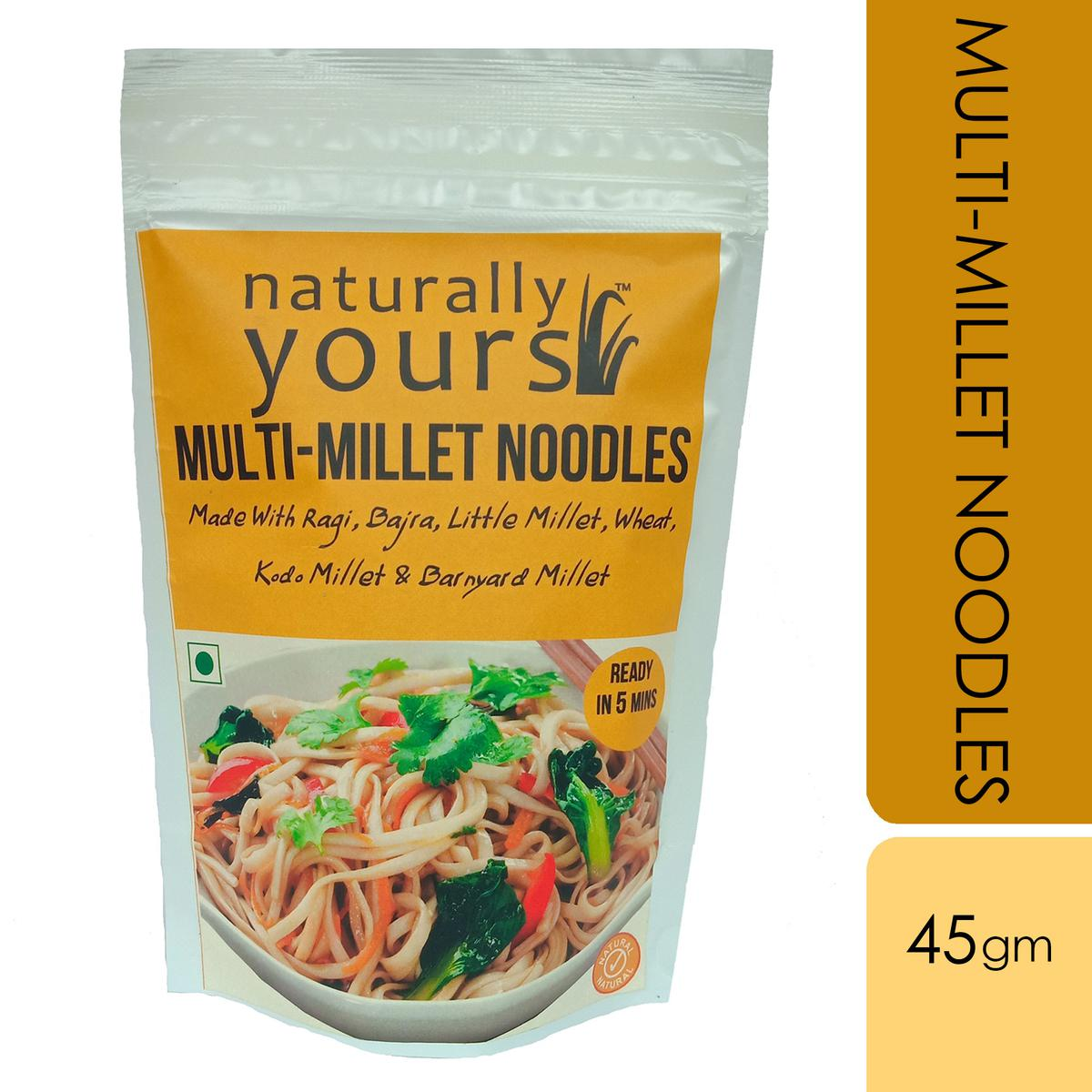 Naturally Yours Multi-Millet Noodles 45gms