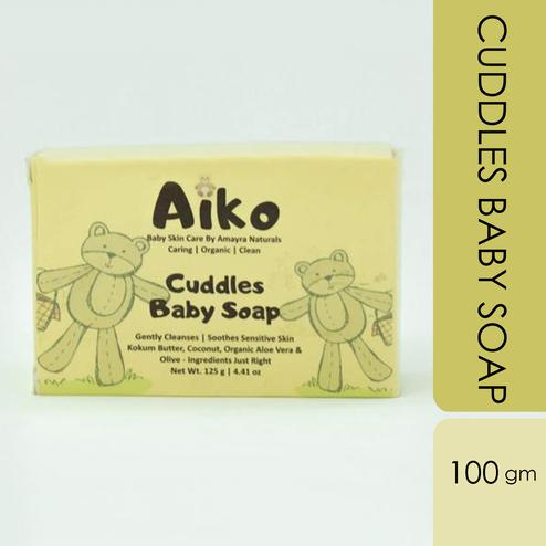 Amayra Natural's Aiko Cuddly Baby Soap 100g [100% Natural, Vegan & Cruelty Free]