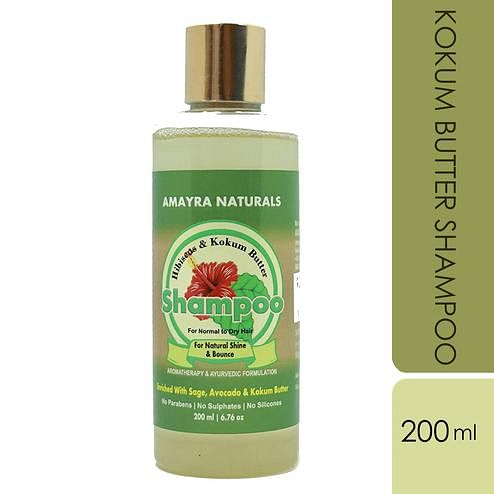 AMAYRA NATURALS Kokum Butter Shampoo (Curly Extremely Dry Hair) - 200 ml