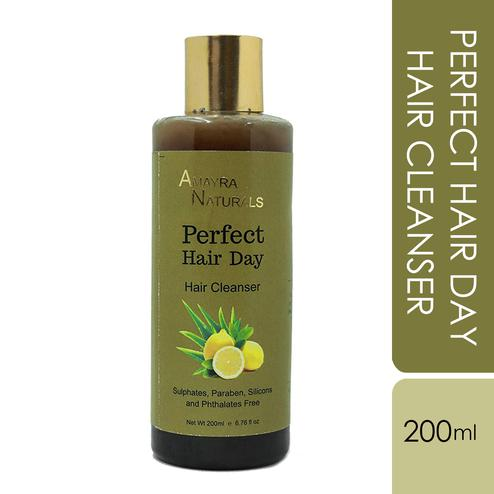 AMAYRA NATURALS Perfect Hair Day Cleanser (Normal to Oily Scalp) - 200 ml