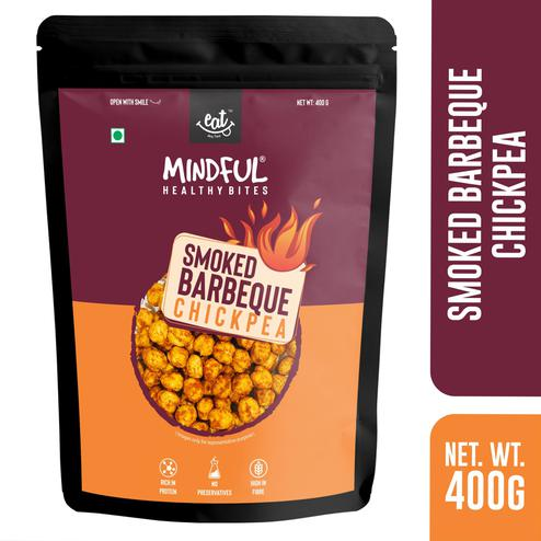 EAT Anytime Mindful Spicy-Crispy Chick Peas Smoke BBQ-Vegan-Gluten Free-400g