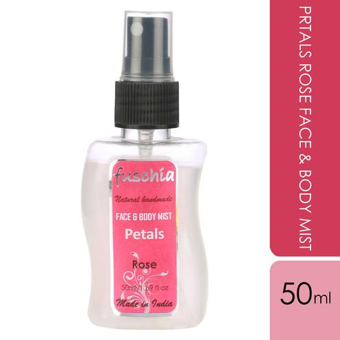 Fuschia Petals Rose Face & Body Mist - 50ml