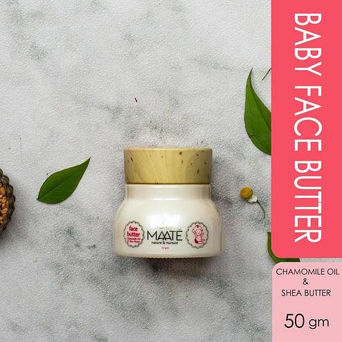 MAATÉ Baby Face Butter-Strengthen skin barrier against environmental damage and UV rays-50 GM