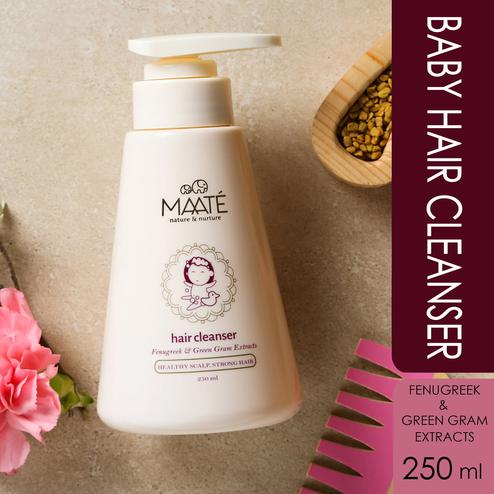 MAATÉ Baby Hair Cleanser-For healthy scalp And stronger hair-250 ML