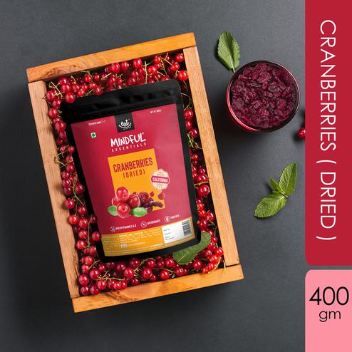 EAT Anytime Mindful Dried Californian Cranberries-400g