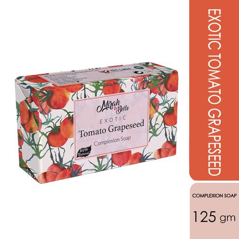 Mirah Belle Exotic Tomato - Grapeseed Complexion Soap - 125Gm