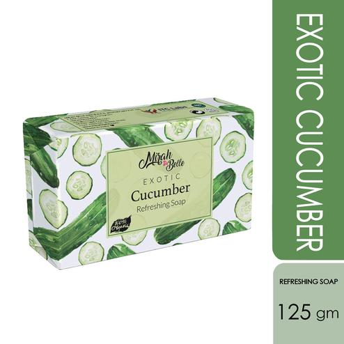 Mirah Belle Exotic Cucumber Refreshing Soap - 125Gm