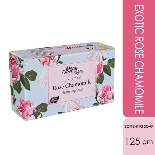 Mirah Belle Rose Chamomile Softening Soap - 125Gm