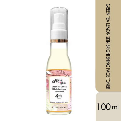 Mirah Belle Green Tea – Lemon Skin Brightening Face Toner - 100Ml