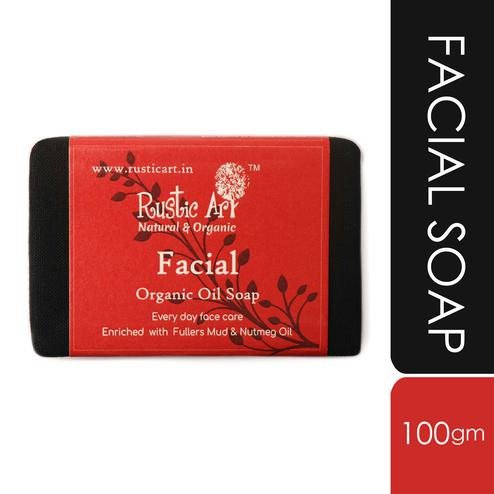 Rustic Art Facial Soap - 100g