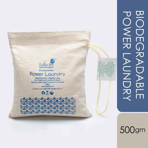 Rustic Art Biodegradable Power Laundry 500 gm