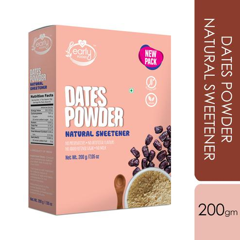Early Foods - Dry Dates Powder - Natural Sweetener 200g